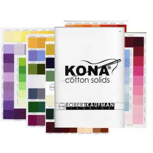 Solidi Kona Cotton - Cartella colori