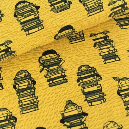 Jersy organic - Bimbi e libri su mostarda