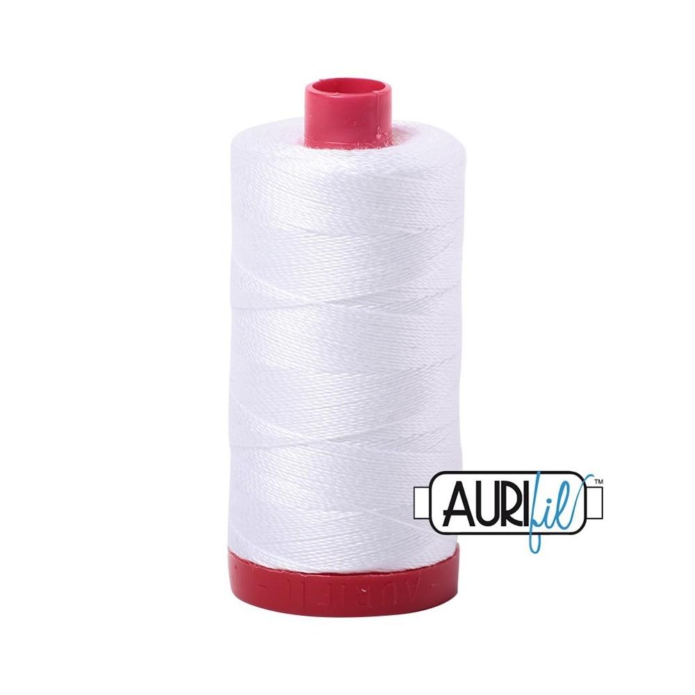 Aurifil 12WT - Large spool - 2024