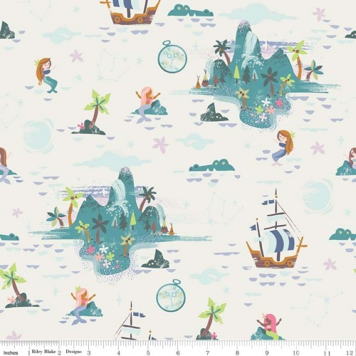 Neverland - Isole e sirene in cream