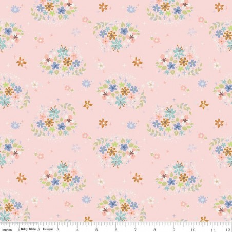Neverland - Fiori in pink