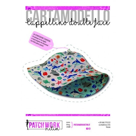 Cartamodello cappellino double face - Versione PDF