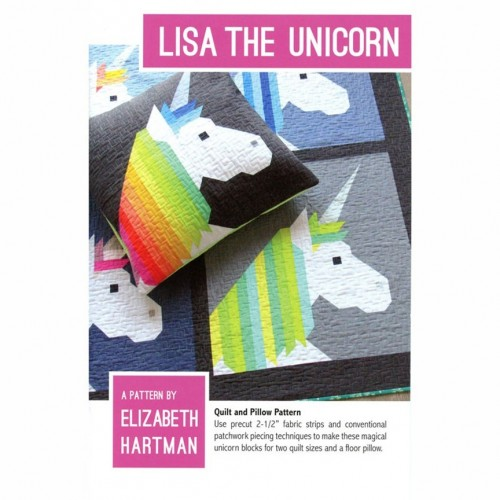 Cartamodello Lisa the unicorn di Elizabeth Hartman