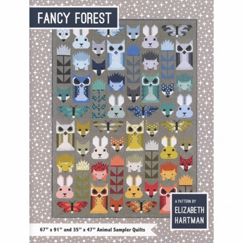Cartamodello Fancy forest di Elizabeth Hartman