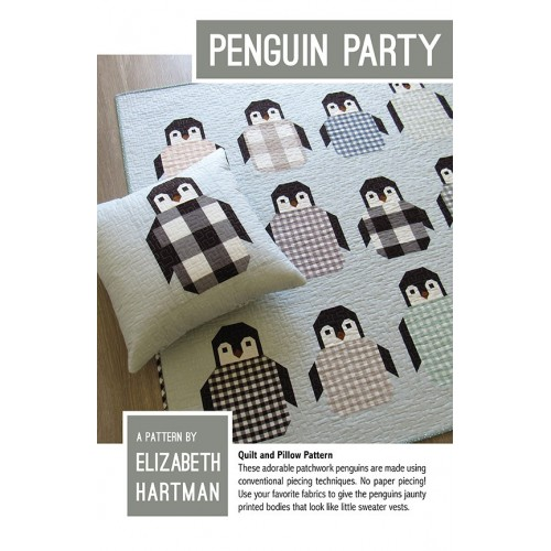 Cartamodello Penguin party di Elizabeth Hartman
