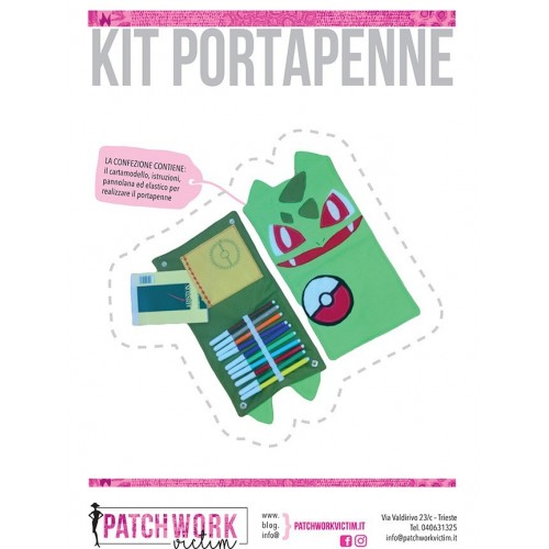 Kit portapenne Bulbasaur