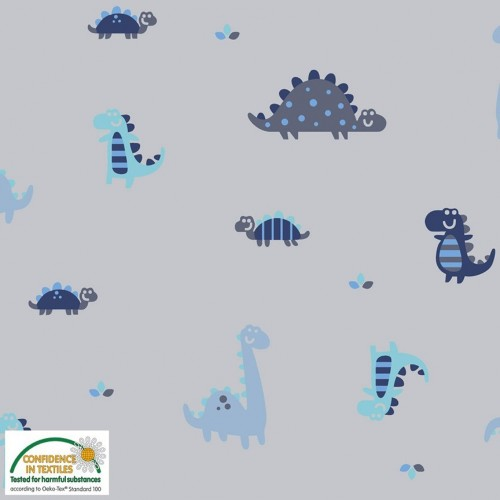 Felpa - Dinosauro su grigio
