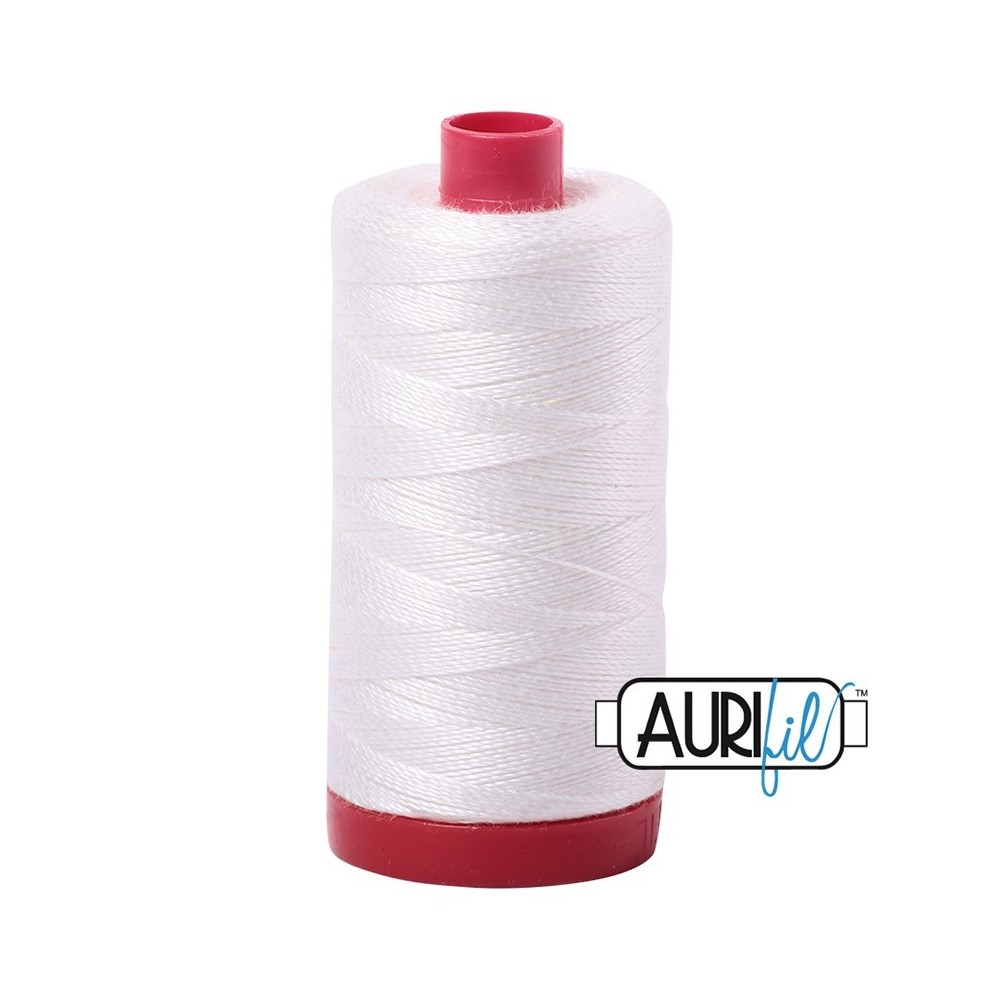 Aurifil 12WT - Large spool - 2021
