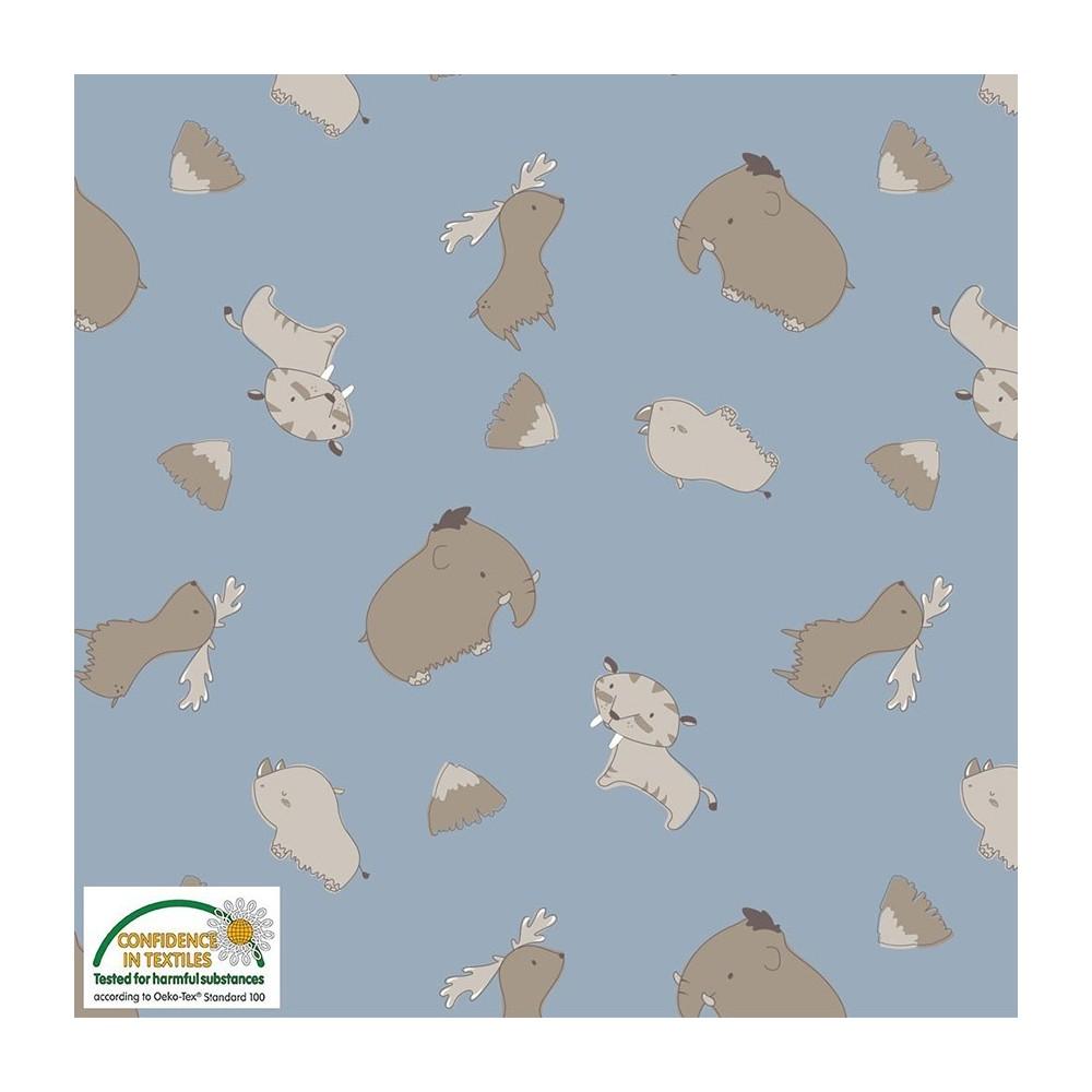 Jersey organic - 15-014 - Mammut ed animali di montagna