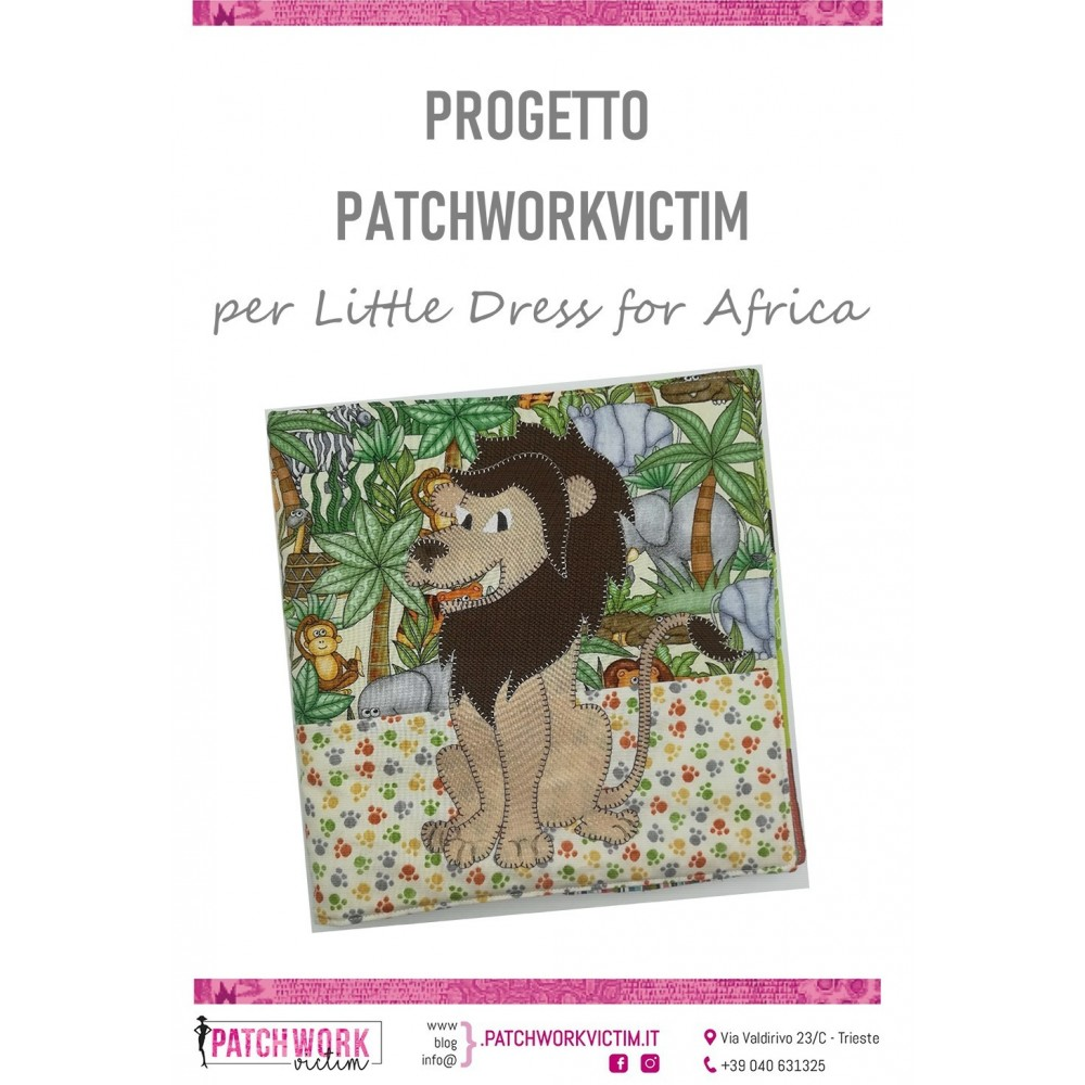 Cartamodello progetto benefico a favore di Little Dresses for Africa Italia