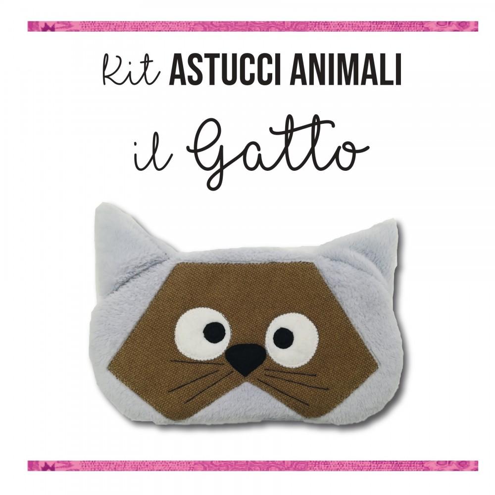 Kit astucci animali - Il gatto