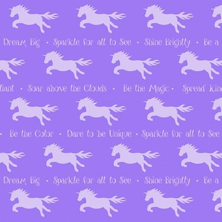 Party like a unicorn - Unicorni su viola