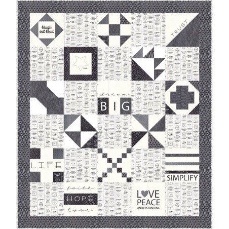 The Print Shop by Sweetwater - Dream Big Quilt Kit