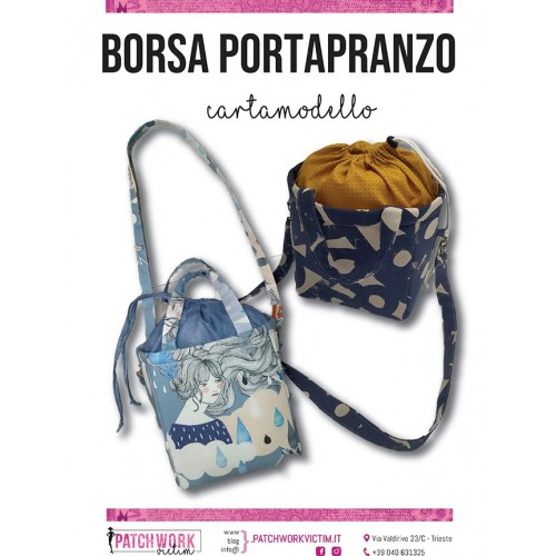 Kit Borsa portapranzo - Cartamodello ed attrezzature