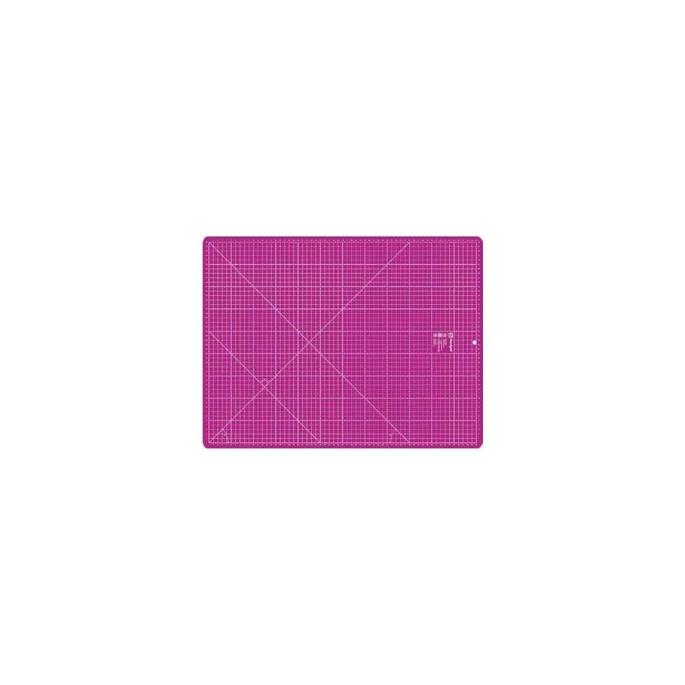 Base da taglio Omnigrid 45x60 cm rosa scuro