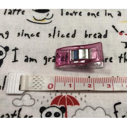 Clips per cucito creativo - Set da 10 pezzi in colori assortiti