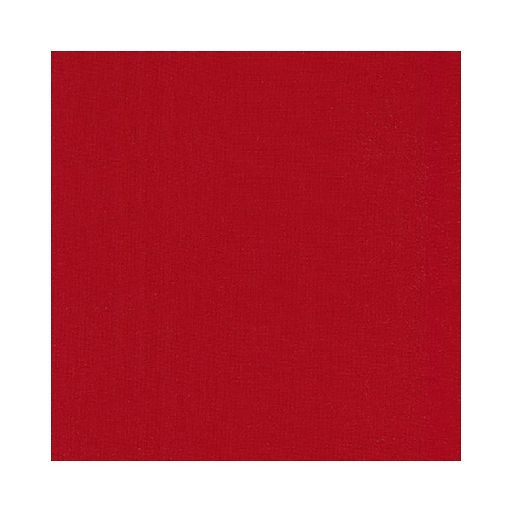 Solidi Kona cotton - Rich red