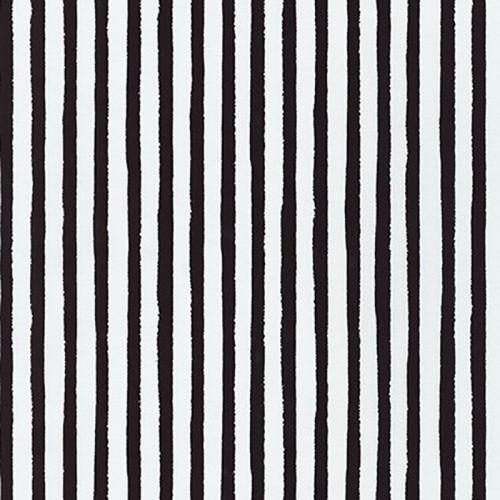 Bianco e nero - Righe bianche e nere (19936-2 black)
