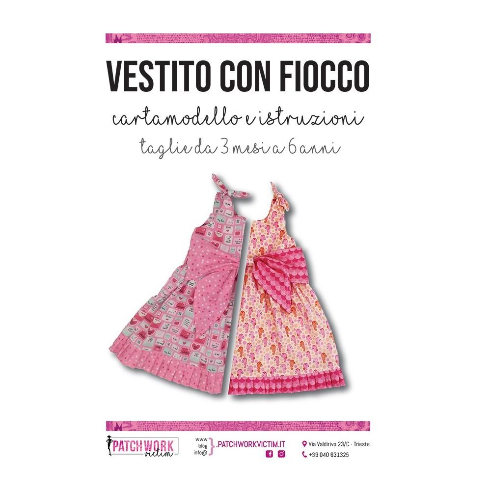 Cartamodello vestitino con il fiocco - Versione pdf