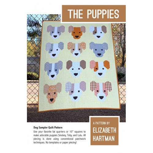 Cartamodello The puppies di Elizabeth Hartman