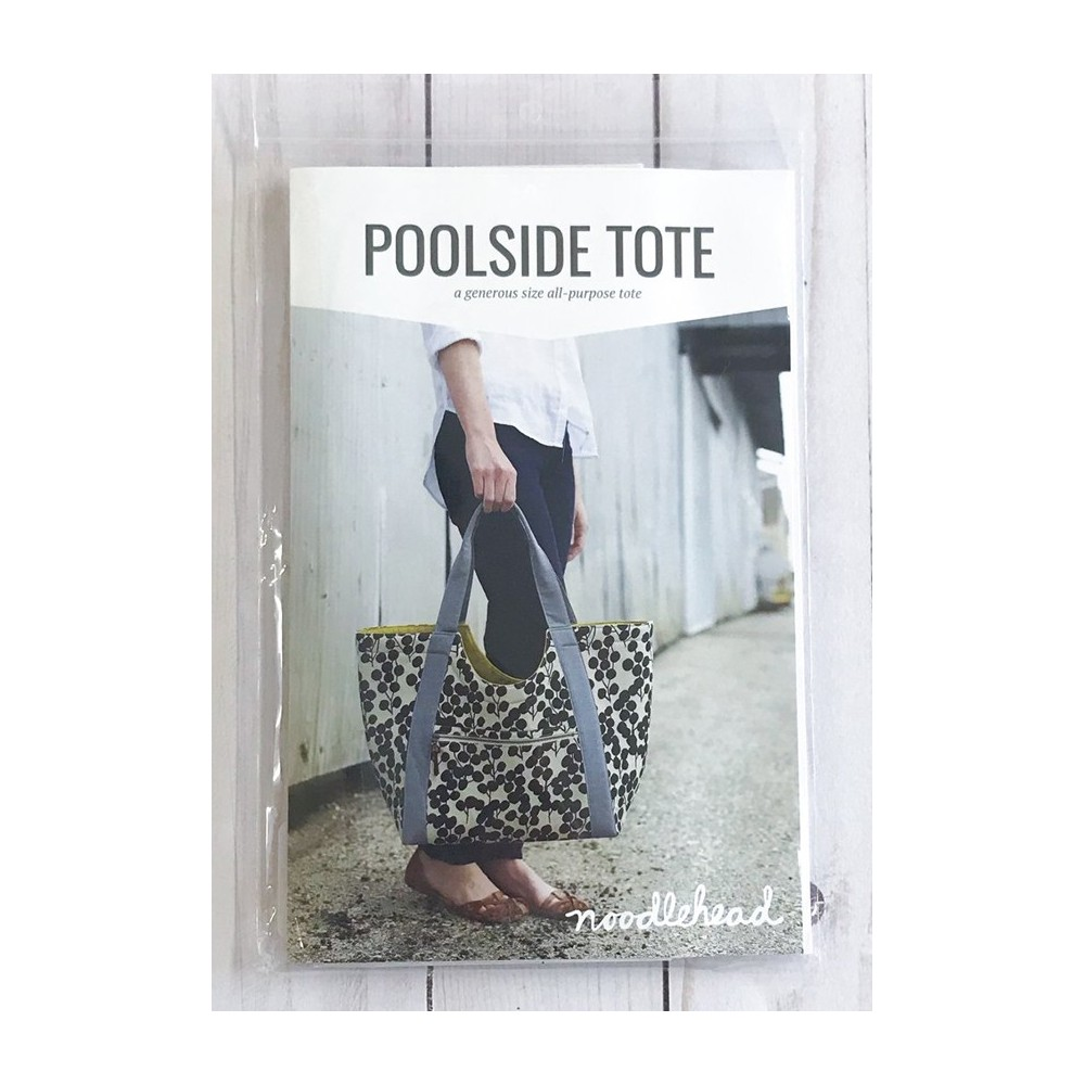 Poolside Tote pattern di Noodlehead