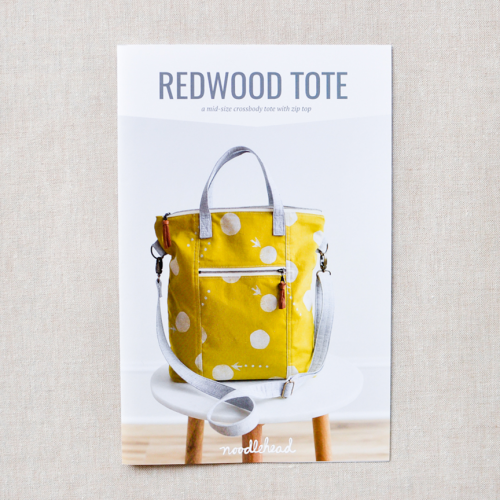 Redwood Tote pattern di Noodlehead
