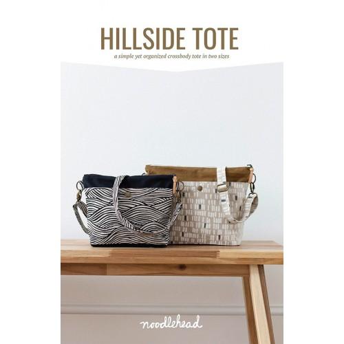 Hillside Tote pattern di Noodlehead
