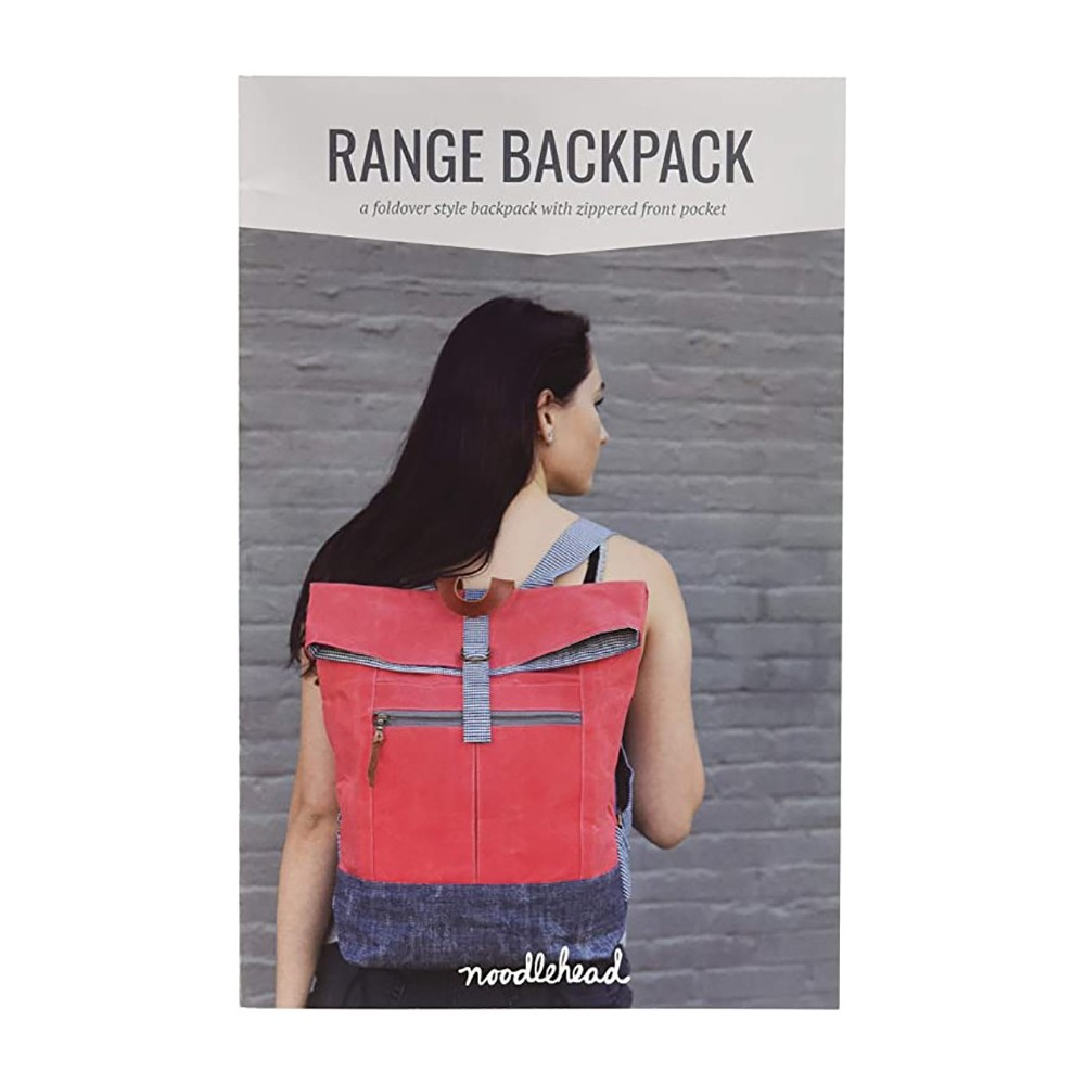 Range Backpack pattern di Noodlehead