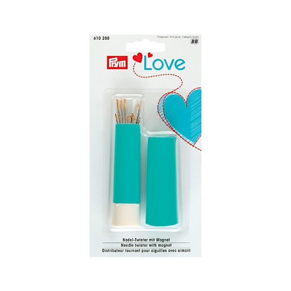 Porta aghi con magnete + aghi Prym Love