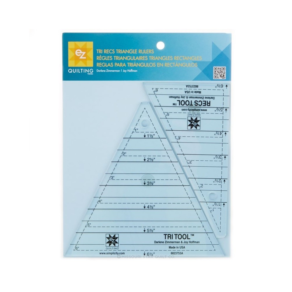 Regolo triangolare - Tri recs triangle rulers