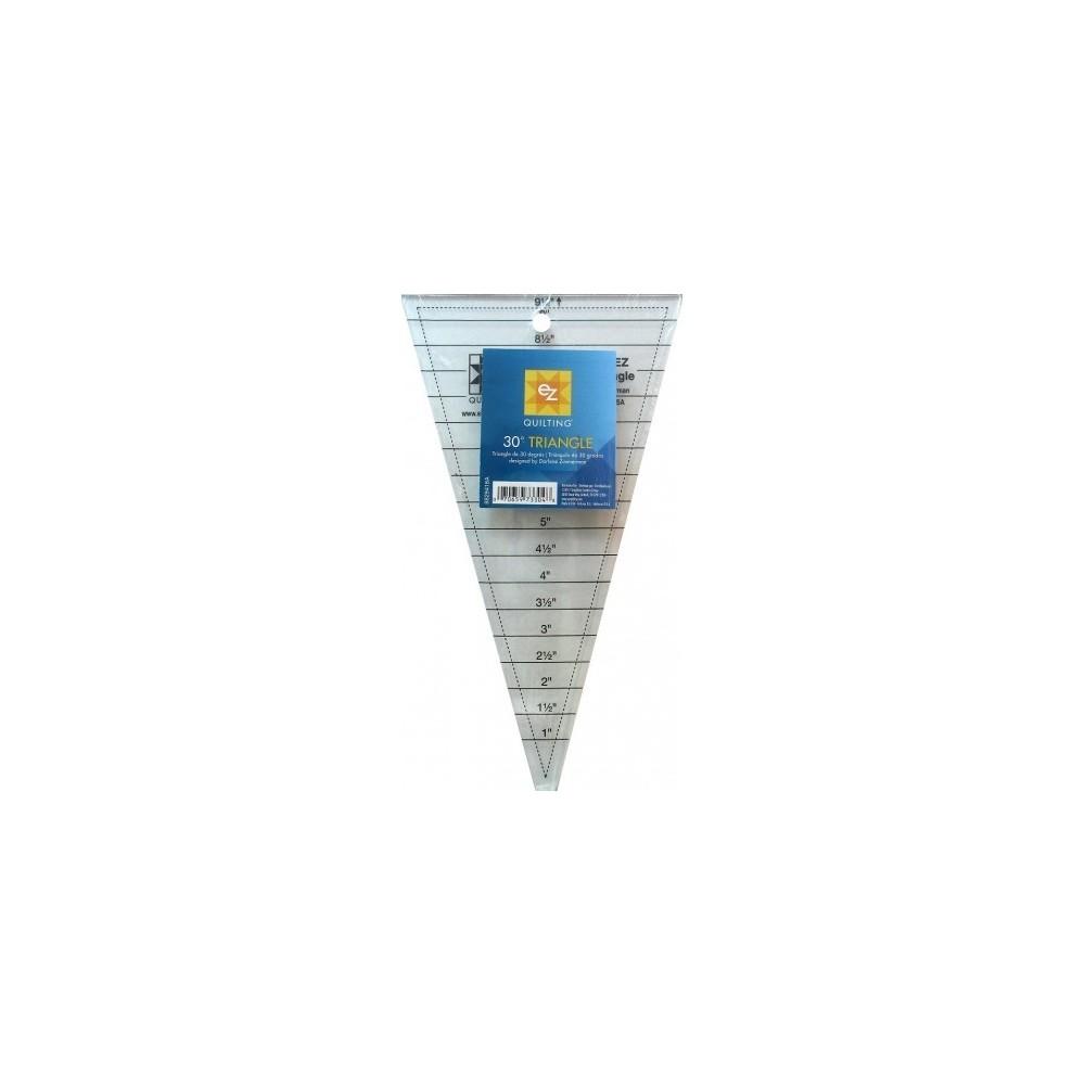 Regolo triangolare 30° - 30° triangle ruler