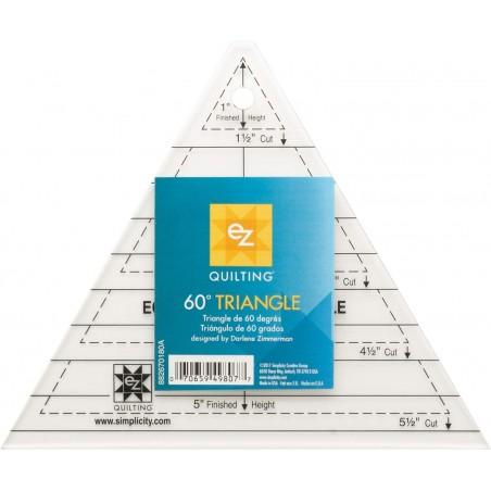 Regolo triangolare 60° - 60° triangle ruler