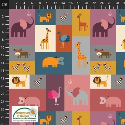 Jersey organic - 15-034 - Animali della Savana