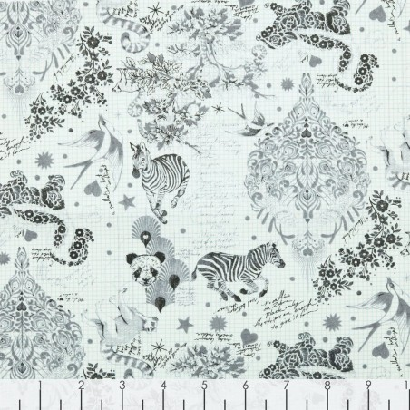 Linework di Tula Pink - 158 paper