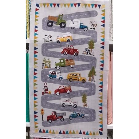 Papa's old truck - Pannello tornanti