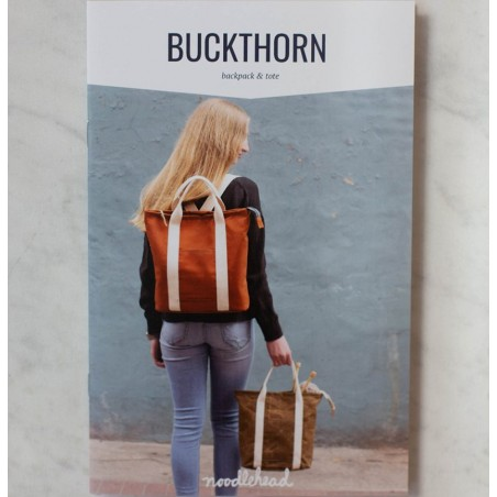 Buckthorn Backpack & Tote pattern di Noodlehead