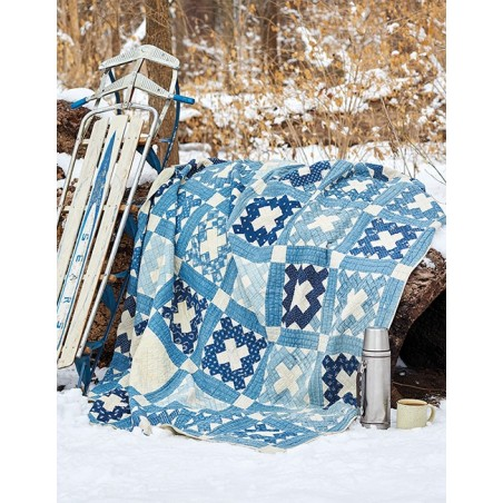 Blue & White Quilts - 13 Remarkable Quilts with Timeless Appeal
