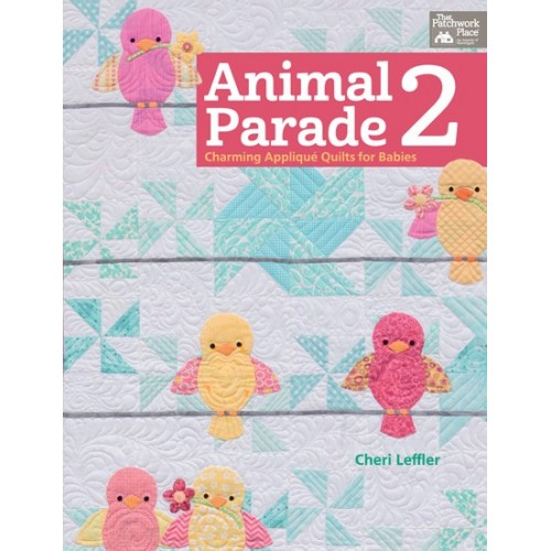 Animal Parade 2 - Charming appliquè for babies