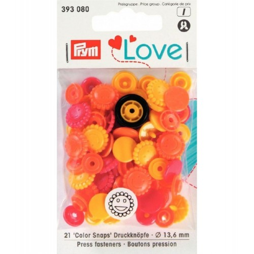 P393080 - Color snaps Prym love - Fiore