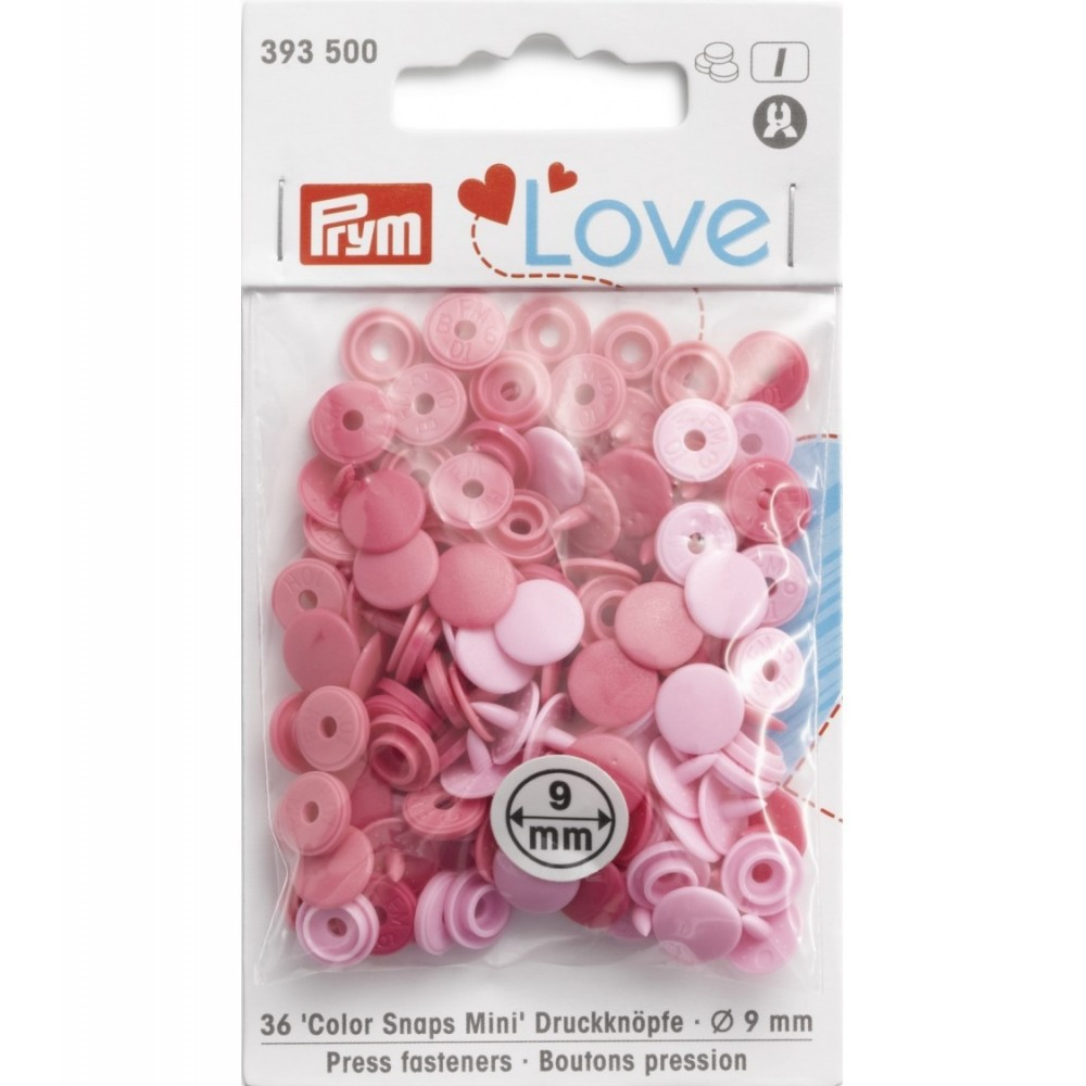 P393500 - Color snaps Prym love - Rotondi