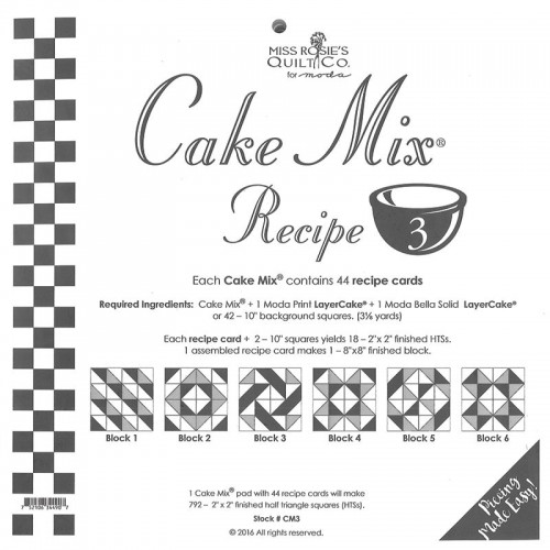 Cake Mix Recipe 3