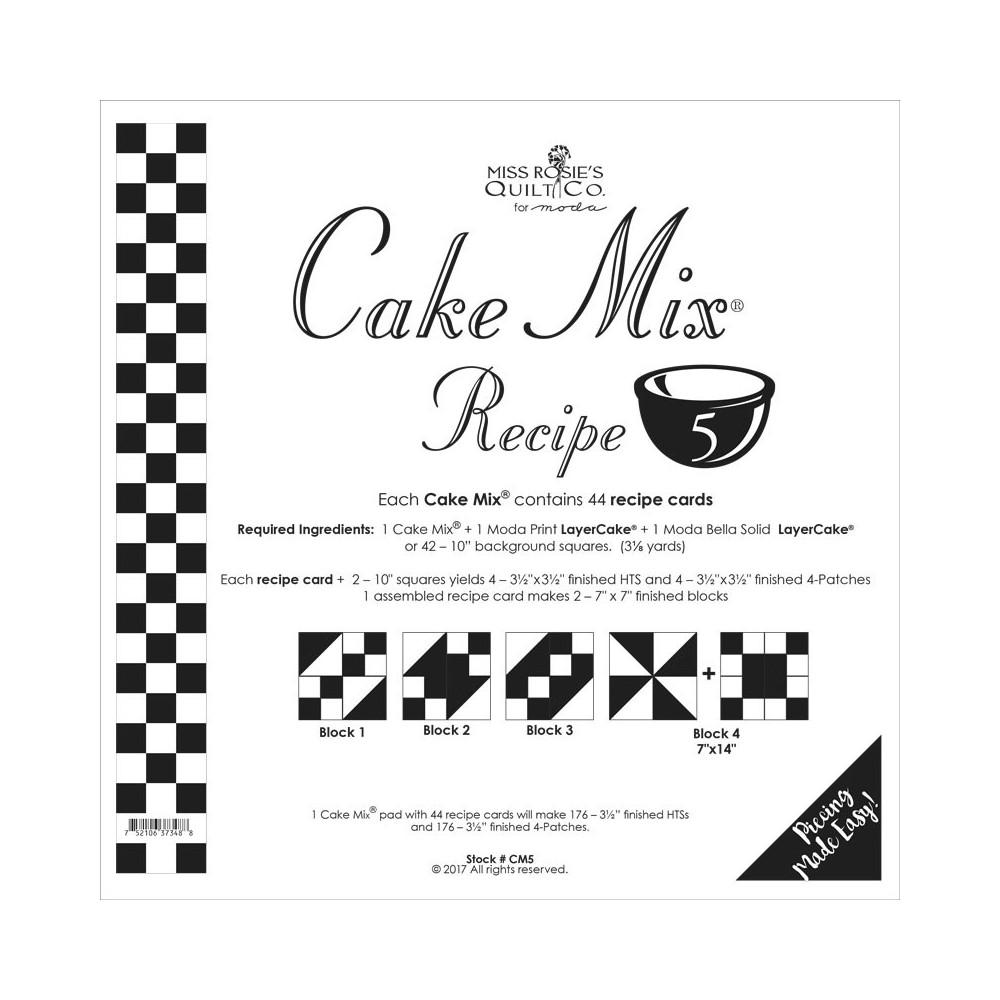 Cake Mix Recipe 5