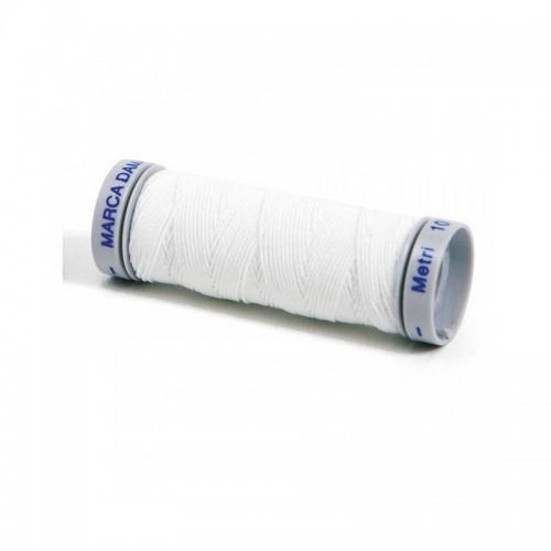 Filo elastico - colore bianco - 10 metri