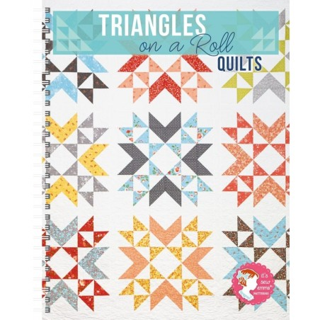 Triangles on a rolls quilts