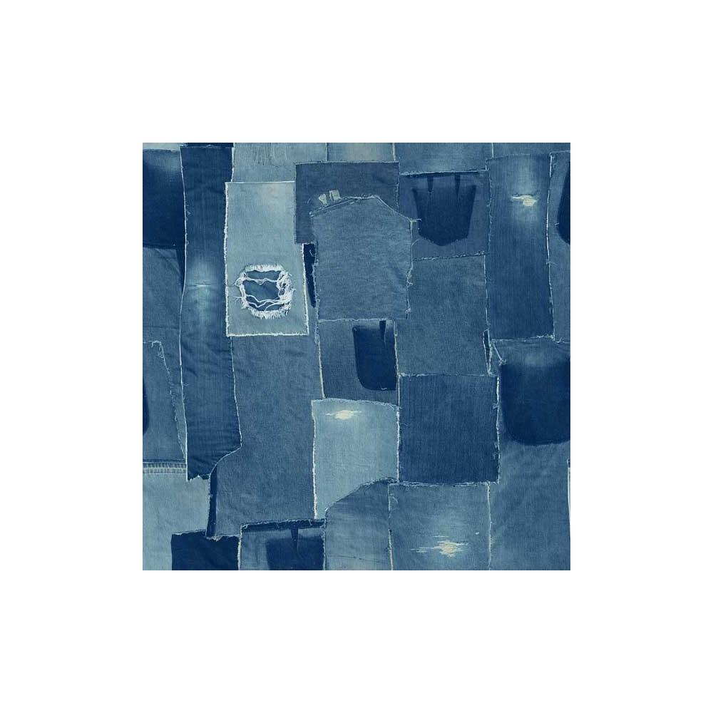 Retro - Patchwork denim - 2555-018