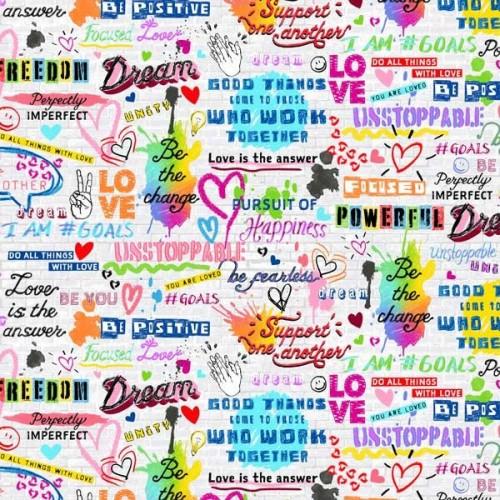 Retro - Graffitti - 2555-080