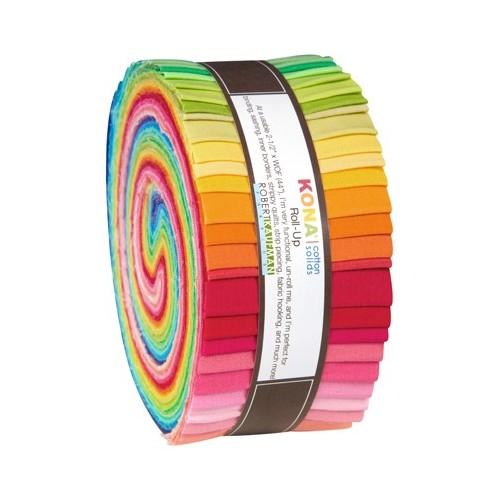 Roll up - 41 strisce - New Bright Palette - Kona Cotton - RU-231-41