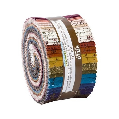 Roll up - 40 strisce - Mill Pond complete collection - Kona Cotton - RU-955-40