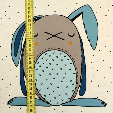 Jersey organic - Pannello coniglio