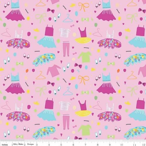 Ballerina bows - Vestiti ed accessori su rosa